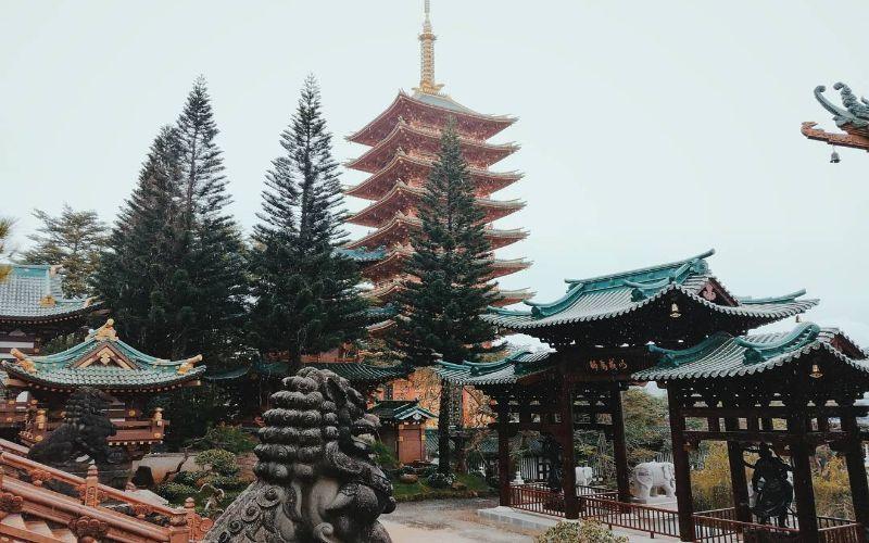 Ghé thăm ngôi chùa đẹp nhất Gia Lai với kiến trúc Việt - Nhật độc đáo