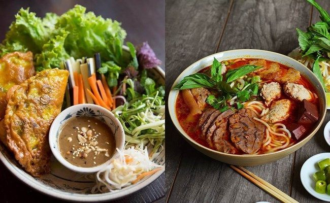 Enjoying simple but delicious dishes in Hue