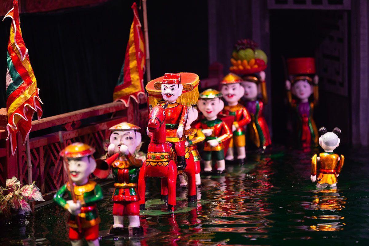 Múa rối nước - nghệ thuật độc đáo chỉ có ở Việt Nam