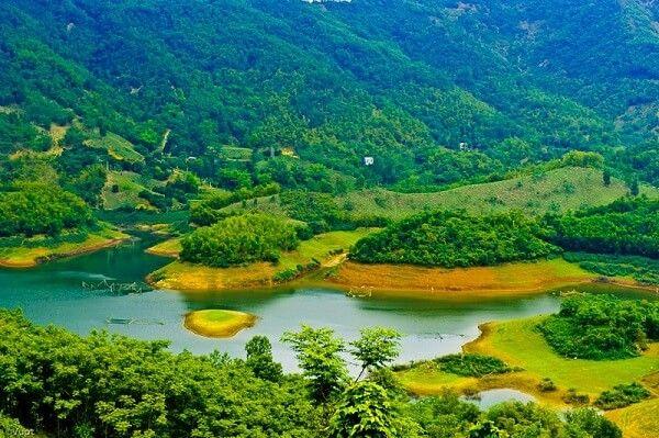 Khám phá Thung Nai thơ mộng giữa núi rừng Tây Bắc