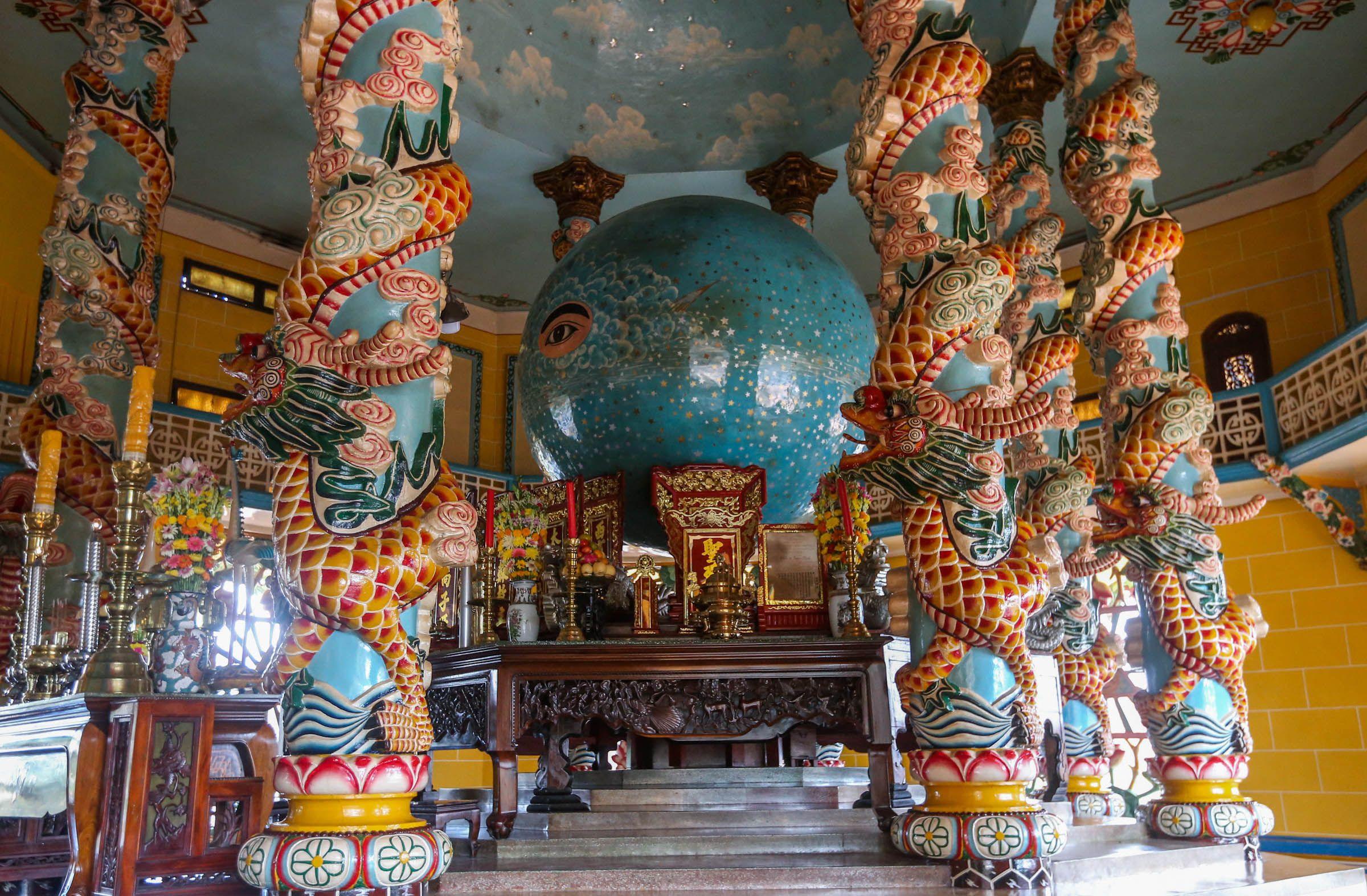 Tòa thánh Tây Ninh - công trình kiến trúc độc đáo của đạo Cao Đài