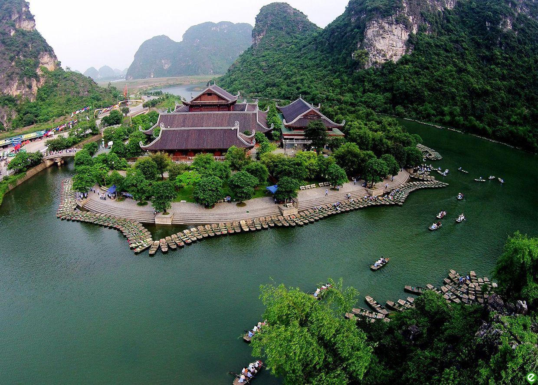 伝説の残るチャンアンの観光スポット