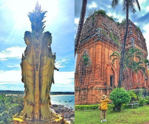 Three destinations featuring cultural and historical values of Binh Dinh