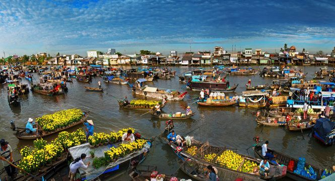 """Four destinations featuring the  """"Southwest beauty of Vietnam"""" in Can Tho"""