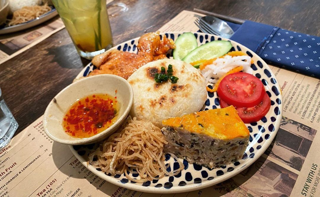 What is special about broken rice that makes it a specialty of Saigon?