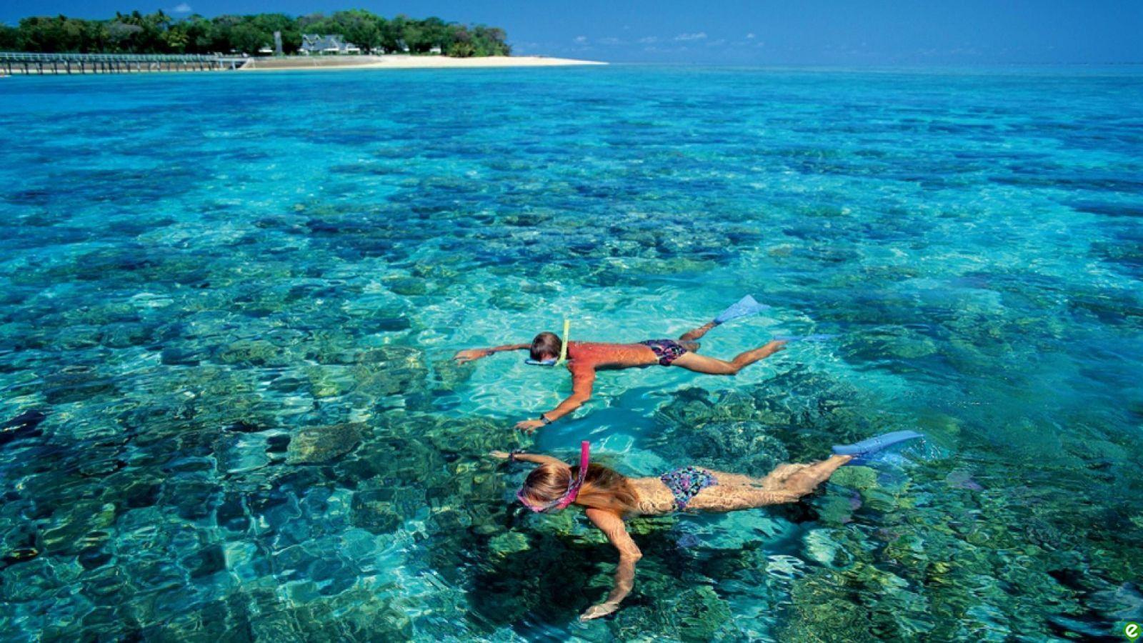キュラオチャム、ビニール袋なしの島