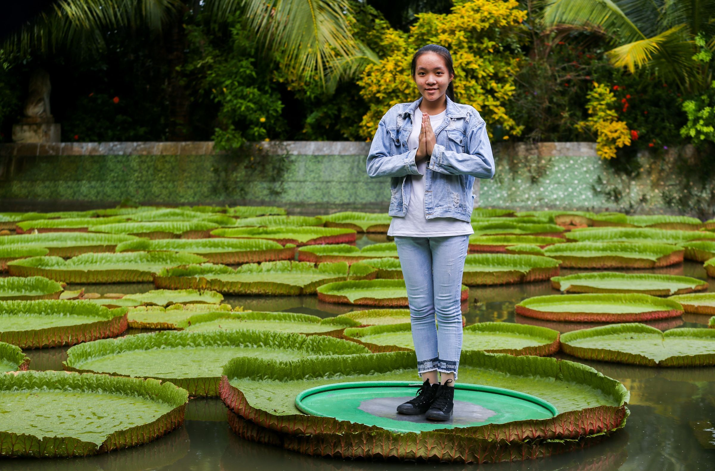 Visiting Phuoc Kien Pagoda - the pagoda with a giant lotus that can