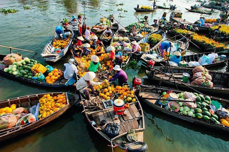 Cai Rang Floating Market - from the unique name to the typical culture of the floodplain
