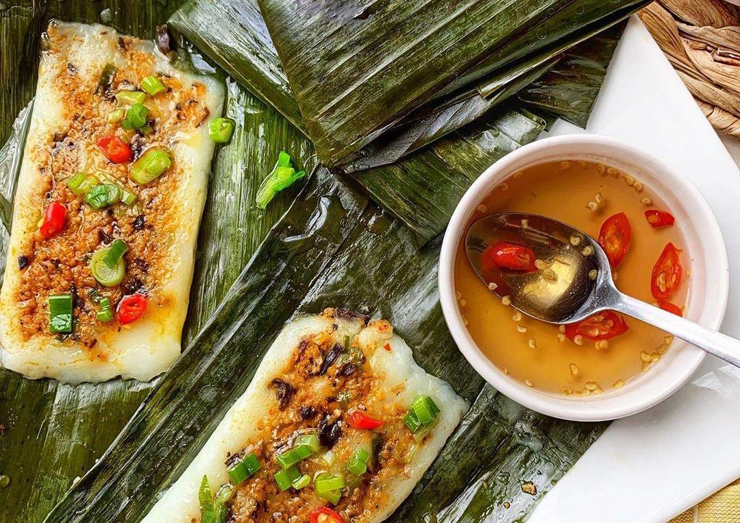 Bánh nậm giản dị mà thơm ngon, chứa định tinh hoa ẩm thực Huế