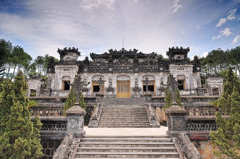 The tomb of King Khai Dinh - the unique cross-cultural architecture in Hue