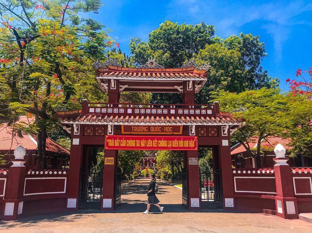 Khám phá trường Quốc học Huế - một trong những ngôi trường lâu đời nhất Việt Nam