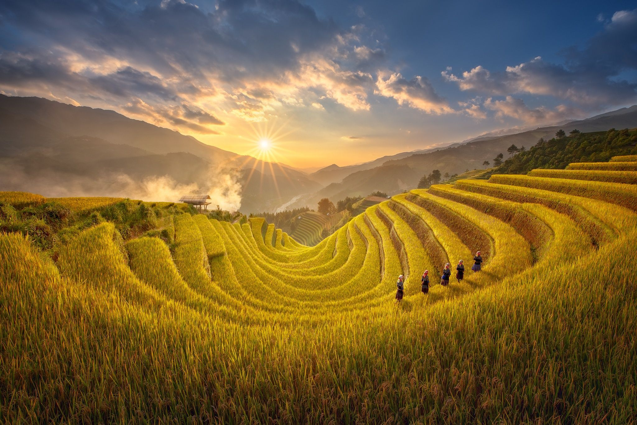 Mu Cang Chai terraced fields - one of the 50 most beautiful destinations in the world