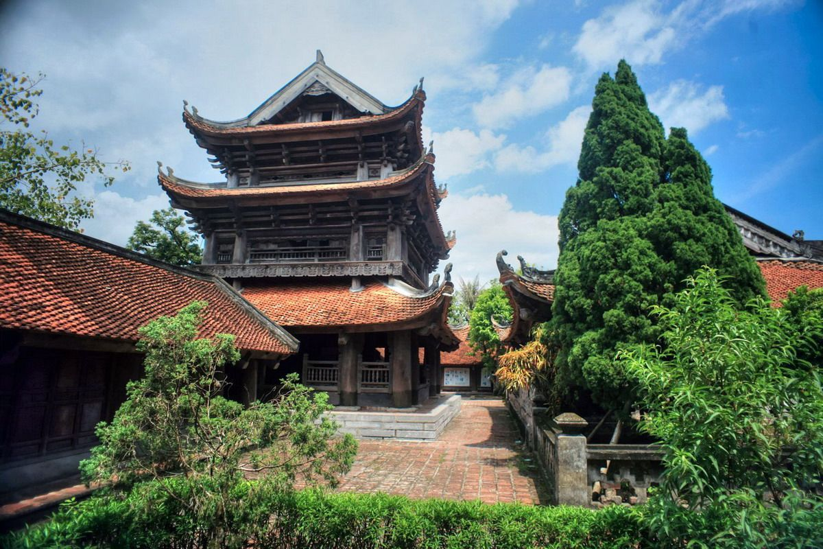The Keo Pagoda in Thai Binh province - the most beautiful ancient architecture in Vietnam