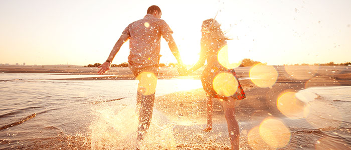 明るく前向き - スピード婚に向いているカップル