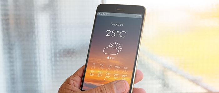 鉄板の天気ネタ - デートでおすすめの会話ネタ