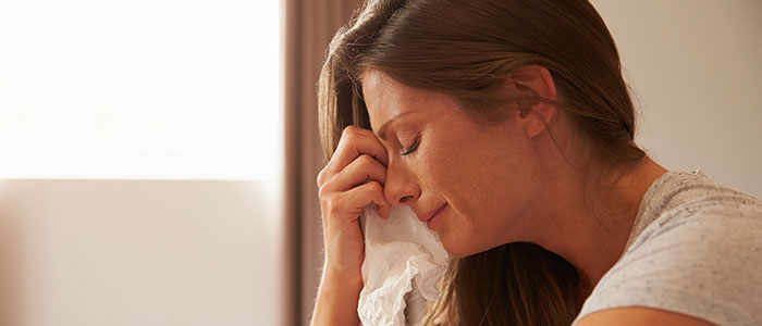 思い切り泣く - 失恋した事実を受け止める