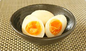 おみそ半熟卵
