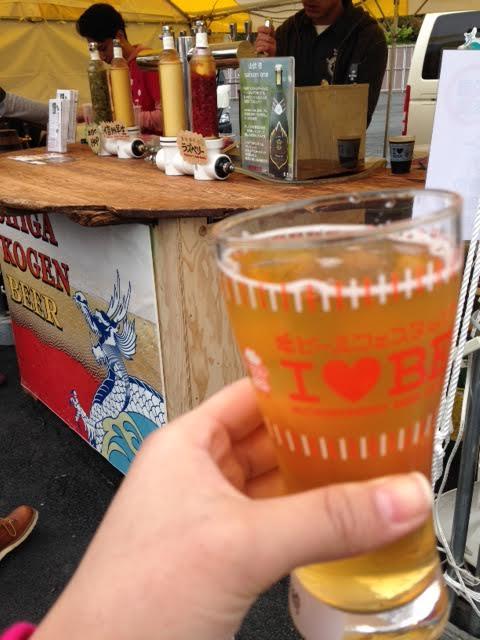 志賀高原ビールのラズベリー【ビール女子関西部始動!】地ビールフェスタin広島 2014