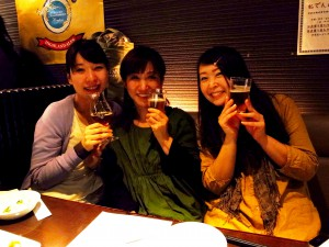 春のビール女子ミーティング