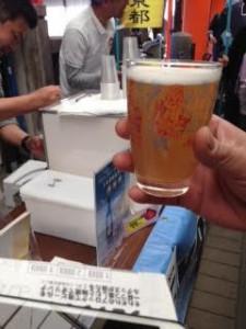 地ビール祭り京都2014 小西酒造スノーブロンシュ