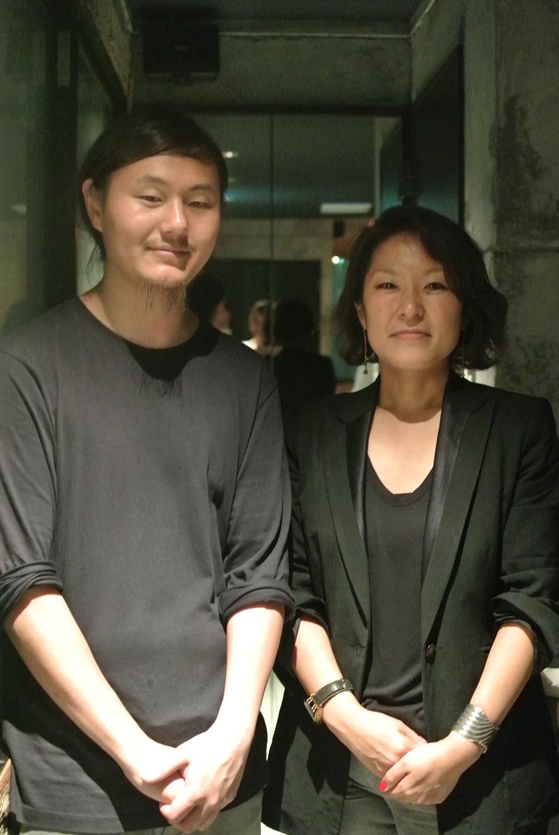 The Counter 杉山 弥保さんとsansa橋本さん