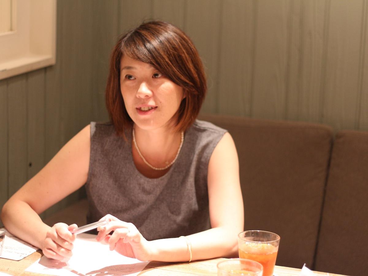 渋谷ヒカリエ女性向けビアカフェiBeer LE SUN PALM仕掛け人-アイビー株式会社 荻原 明子さん-
