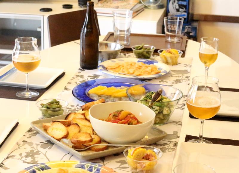 ビール女子 ホームパーティ