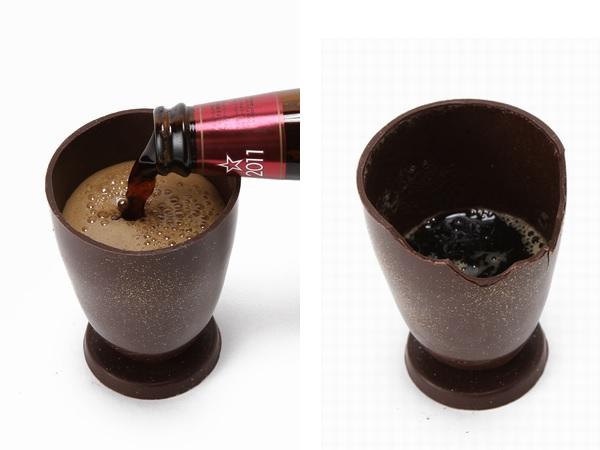 画像:チョコレートグラス