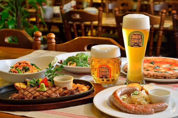 画像:御殿場高原ビールグランテーブルお料理