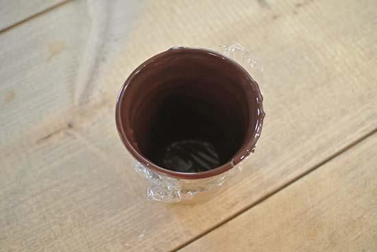 チョコレートグラス