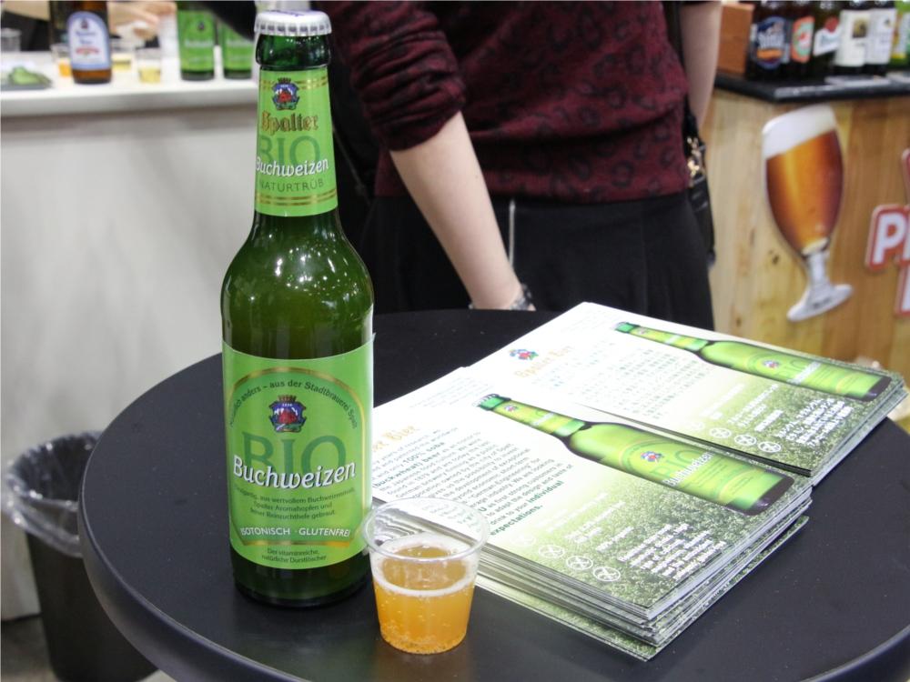 蕎麦 そばビール そばモルト 展示会 東京ビッグサイト