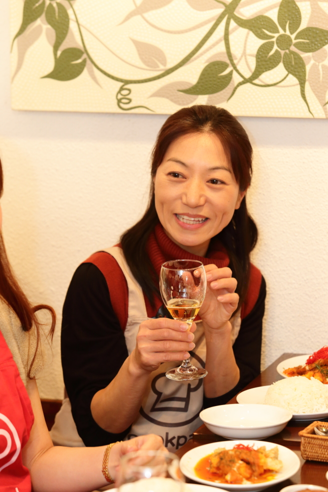 試飲会 自由が丘 タイ 料理教室 ビール王国
