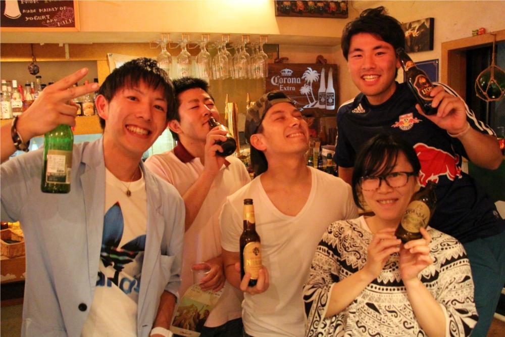 下北沢 旅カフェ GIFT 世界のビール祭り
