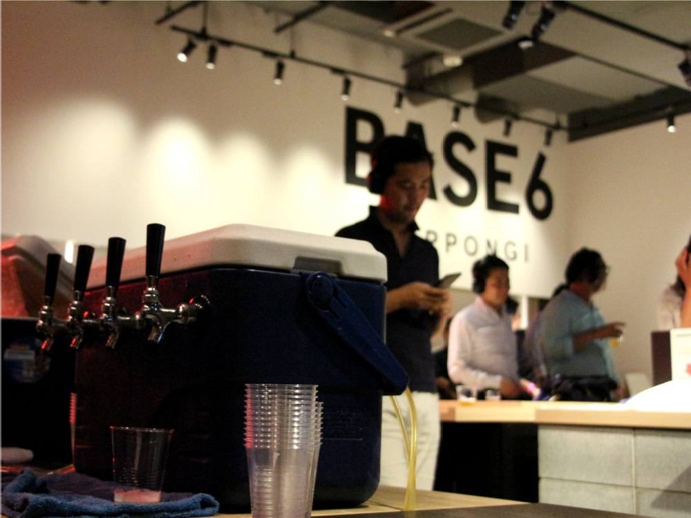 BASE6 ヤフー 東京クラフトビールマニア 無音フェス