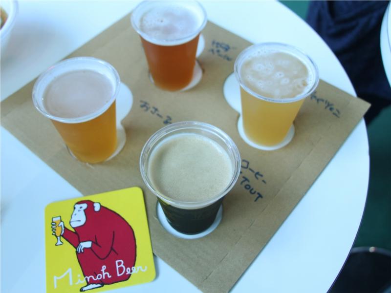 けやきひろば 秋のビールまつり