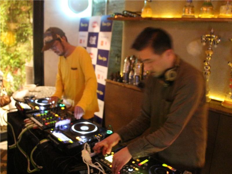 シブヤビール カフェボヘミア 渋谷 スパイス番長 DJ