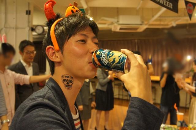サッポロビール ハロウィンデザイン缶