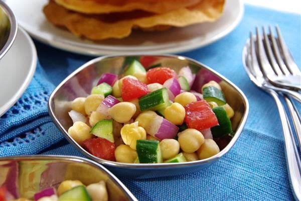 ひよこ豆のサラダチャナチャート