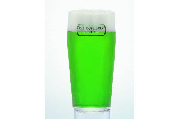 パブ セントパトリックスデー グリーンビール ダブリナーズ