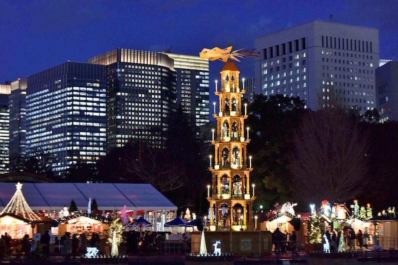 クリスマスマーケット 東京 ビール