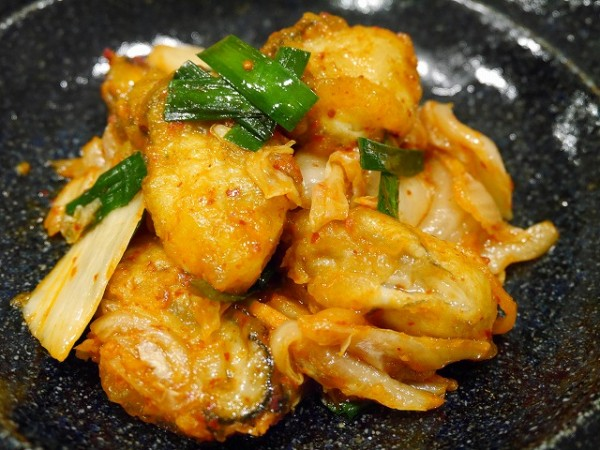 牡蠣 キムチ おつまみ