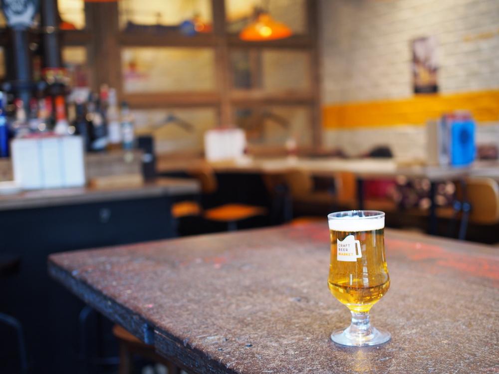 こたつ ビール クラフトビールマーケット 神保町テラス