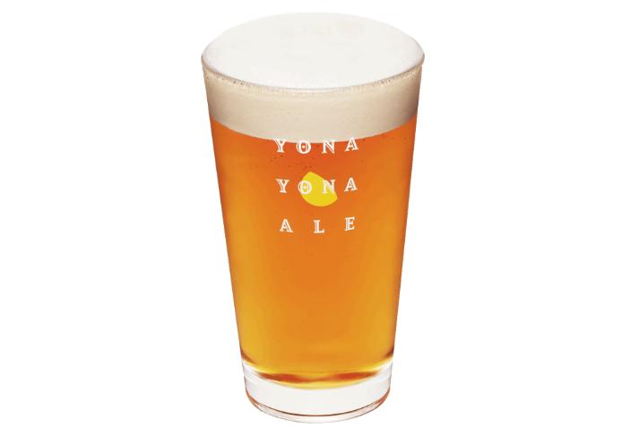 ヒビヤガーデン ビール よなよなエール