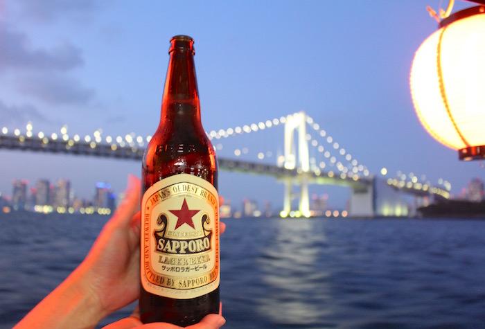 屋形船 赤星 ビール