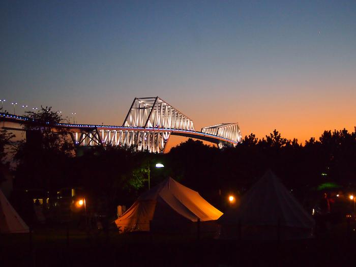 若洲公園キャンプ場 ビール イベント