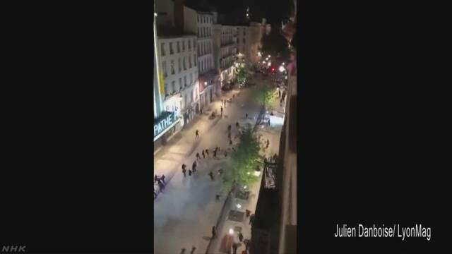 仏ハロウィーン 若者が暴徒化 放火に略奪も 100人超を検挙 | NHKニュース