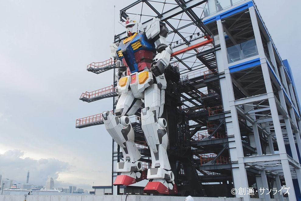 """""""動く実物大ガンダム""""12月19日ついに公開 - AV Watch"""