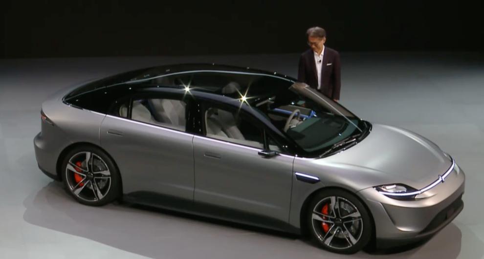 なんとソニーが自動車「Vision-Sセダン」を発表     TechCrunch Japan