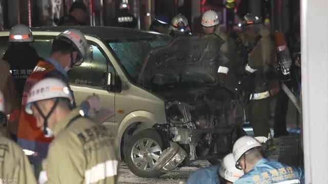 原宿 竹下通り 車暴走し8人けが 車の男「テロ起こした」 | NHKニュース