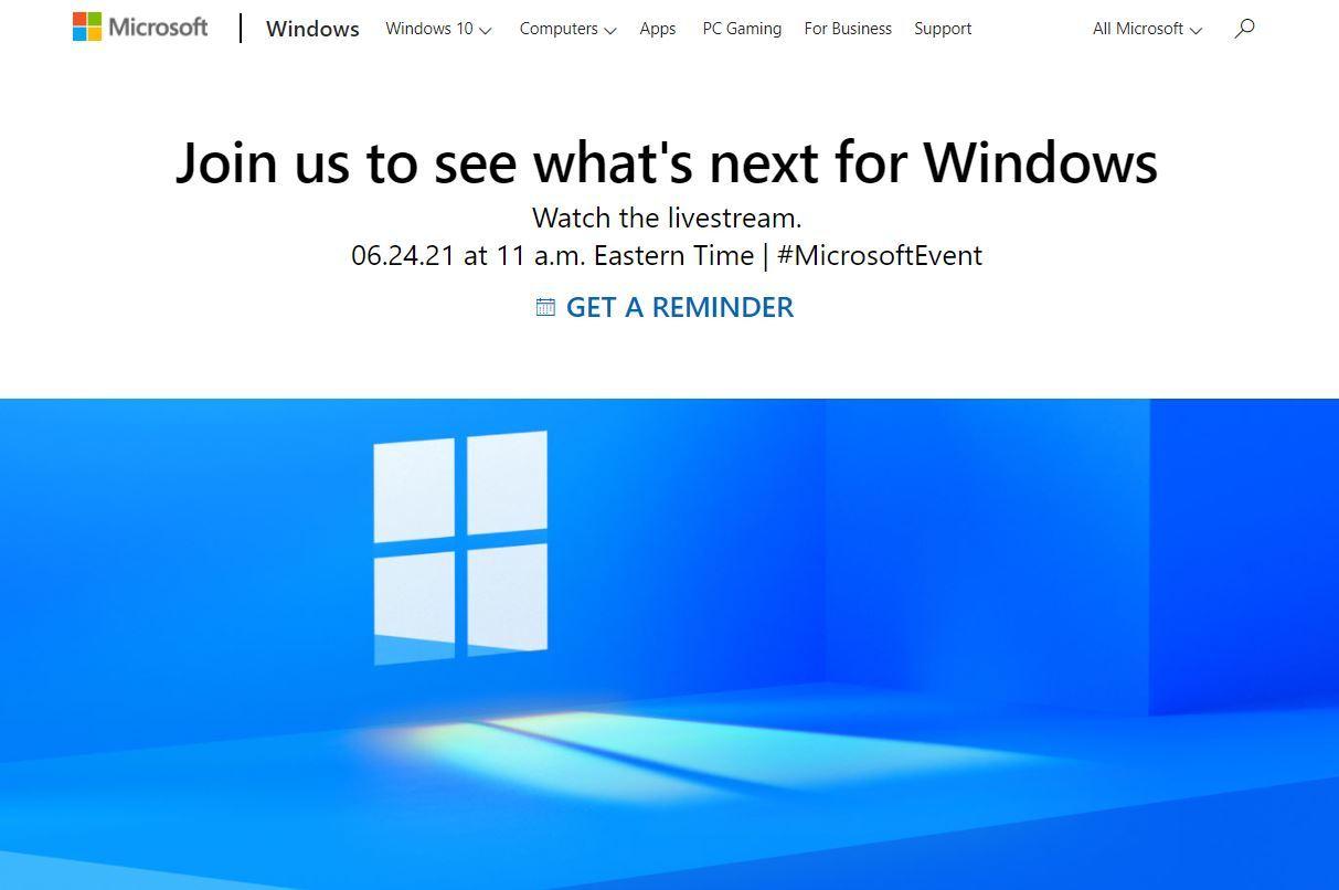 "Microsoft、""次世代Windows""発表イベントを6月25日午前0時開催 - ITmedia NEWS"
